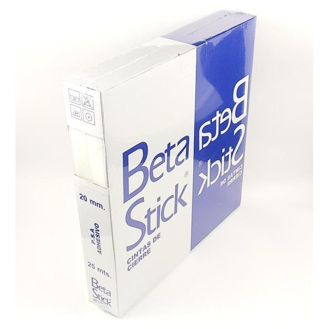 Beta-Stick adh. Macho+Hembra 25mt. -Ref.BETA.20-