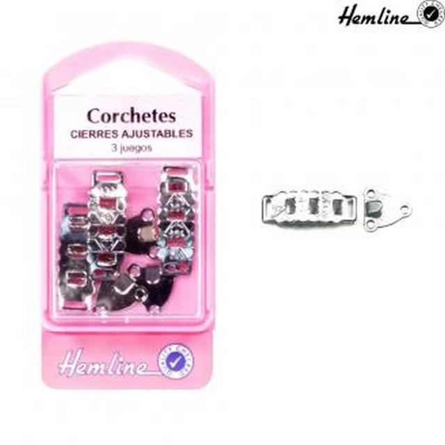Corchete ajustable 3jg. -Ref.432-