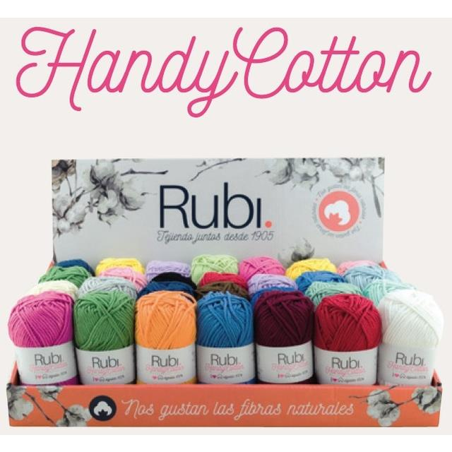 Rubí Handy Cotton 100%alg 50gr 28u -*Ref.VHA07.EXP-