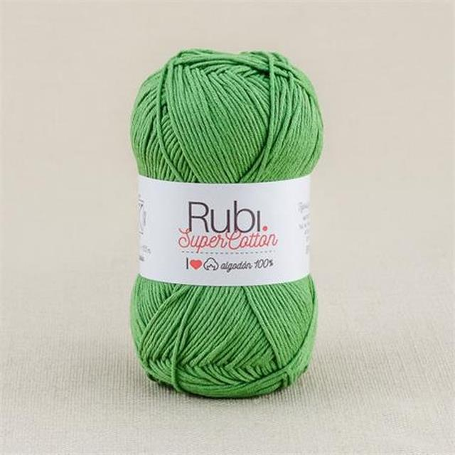 Rubí Super Cotton 100%alg 50gr 10un -*Ref.VHA08-