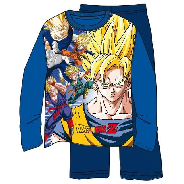 Pijama m/l Dragon Ball -Ref.4396.06 Col.royal/mari-