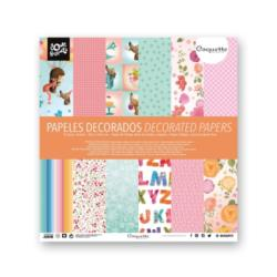Papel decorado doble cara 12u -Ref.1110961709-